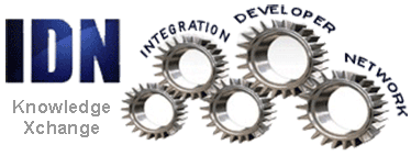 Integration Developer Network (IDN) Knowledge Xchange Logo
